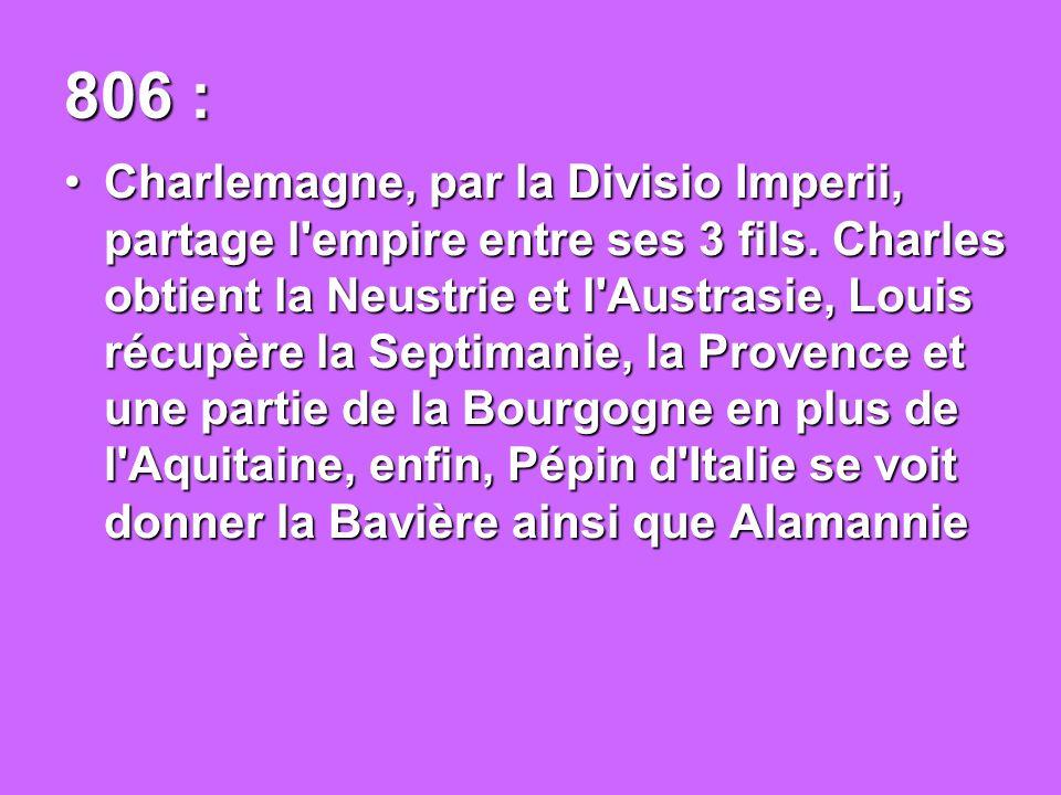 847 : Fin de la rédaction de De Universo par Raban Maur, première encyclopédie.