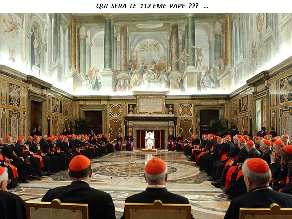 2013 … 85 ANS … BENOIT XVI SE RETIRE IL NE VOULAIT PAS ETRE PAPE