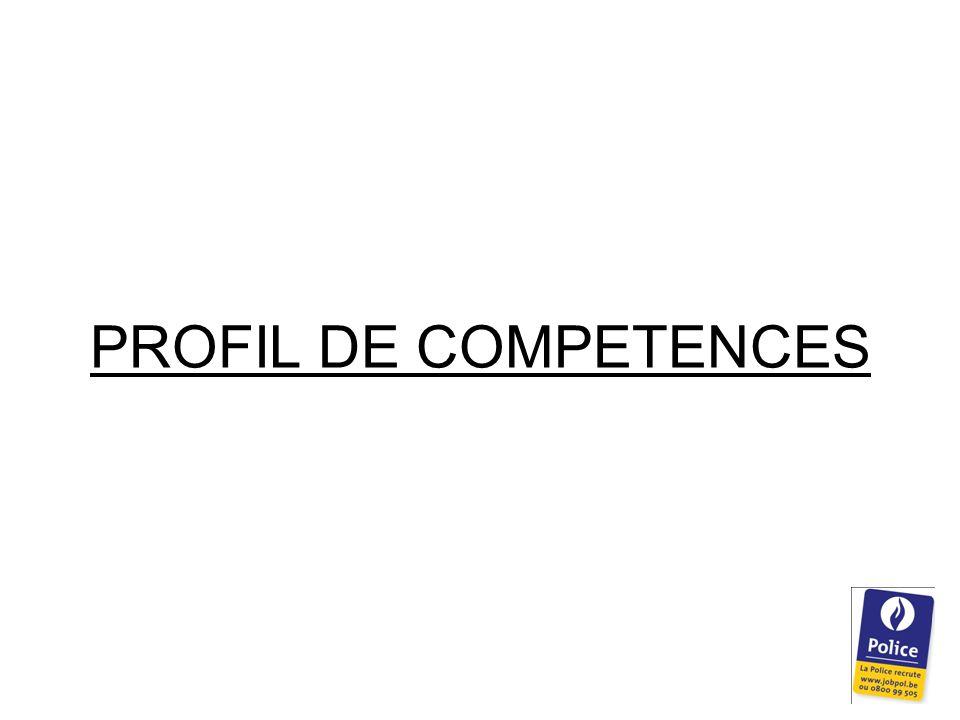 PROFIL DE COMPETENCES