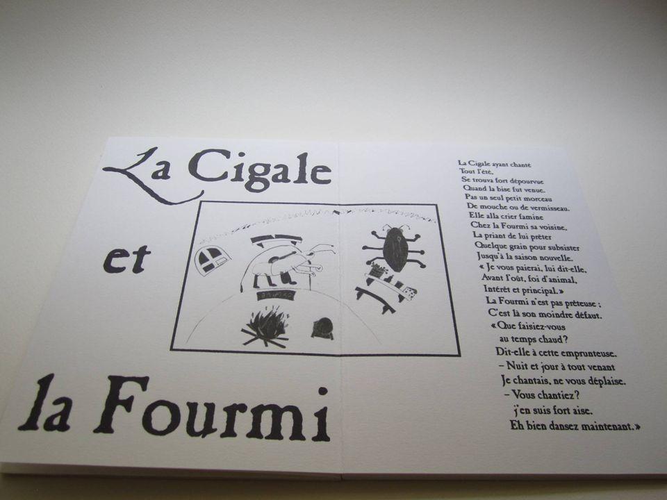 Atelier « livre animé » organisé par Stéphanie TOUZAN et encadré par Jean NEUFVILLE LIVRE III Les dessins colorisés Impression à plat LIVRE IV Les aquarelles Impression à plat
