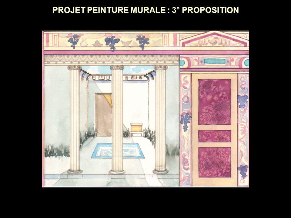 PROJET PEINTURE MURALE : 3° PROPOSITION