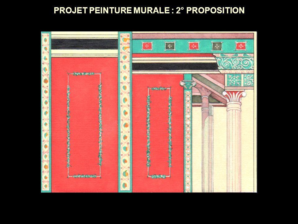 PROJET PEINTURE MURALE : 2° PROPOSITION