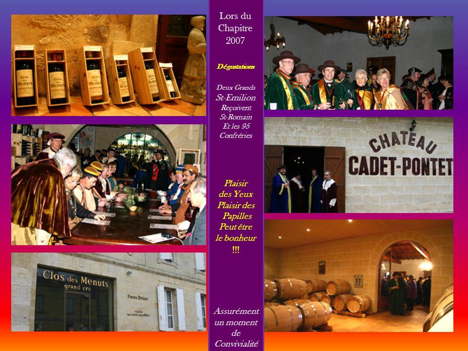 CONFRERIE DE SAINT-ROMAIN EN BORDELAIS ET PAYS LIBOURNAIS 2008 2 0 0 8