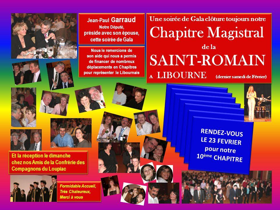 Oui…mais 2007, c'est déjà du passé…. PLACE A 2008 Samedi 23 Février 2008 LIBOURNE (Gironde) VOUS ÊTES CORDIALEMENT INVITES A NOTRE 10 ème ANNIVERSAIRE