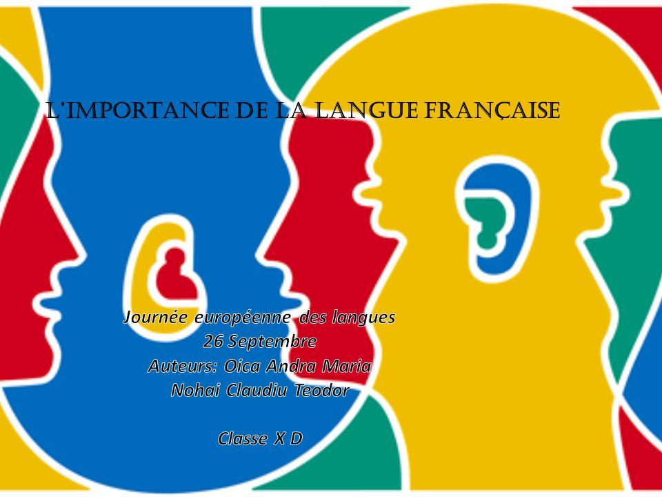 L'importance sociale parler à quelqu'un de l'autre nationalité parler avec les habitants quand on leur visite le pays