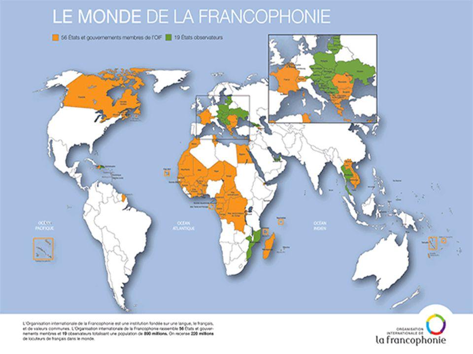 Une langue des relations internationales La langue française est à la fois la langue officielle et la langue de travail pour les institutions telles que l'ONU,l'Union Européene,l'Unesco,l'OTAN,la Croix- Rouge Internationale...