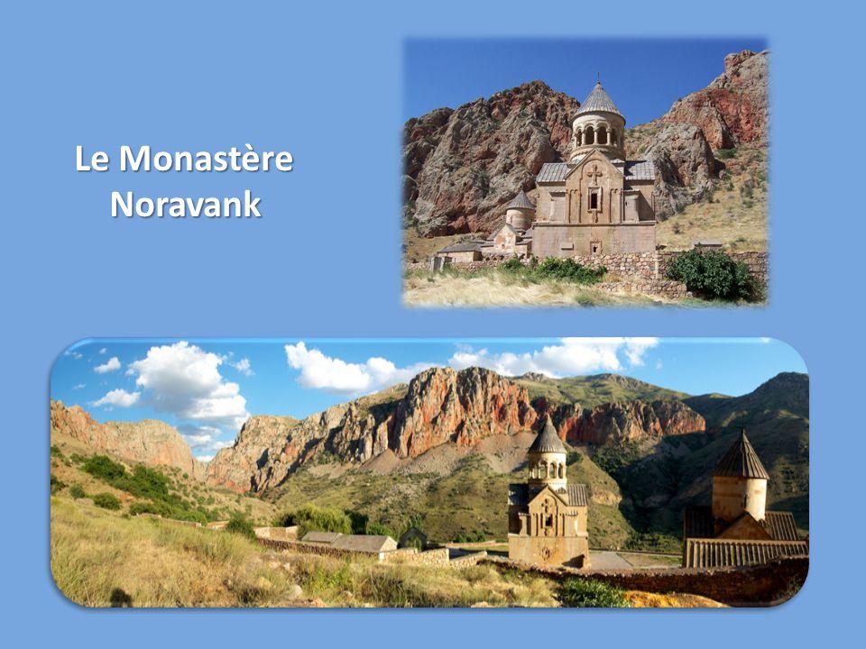 Le Monastère Noravank Noravank