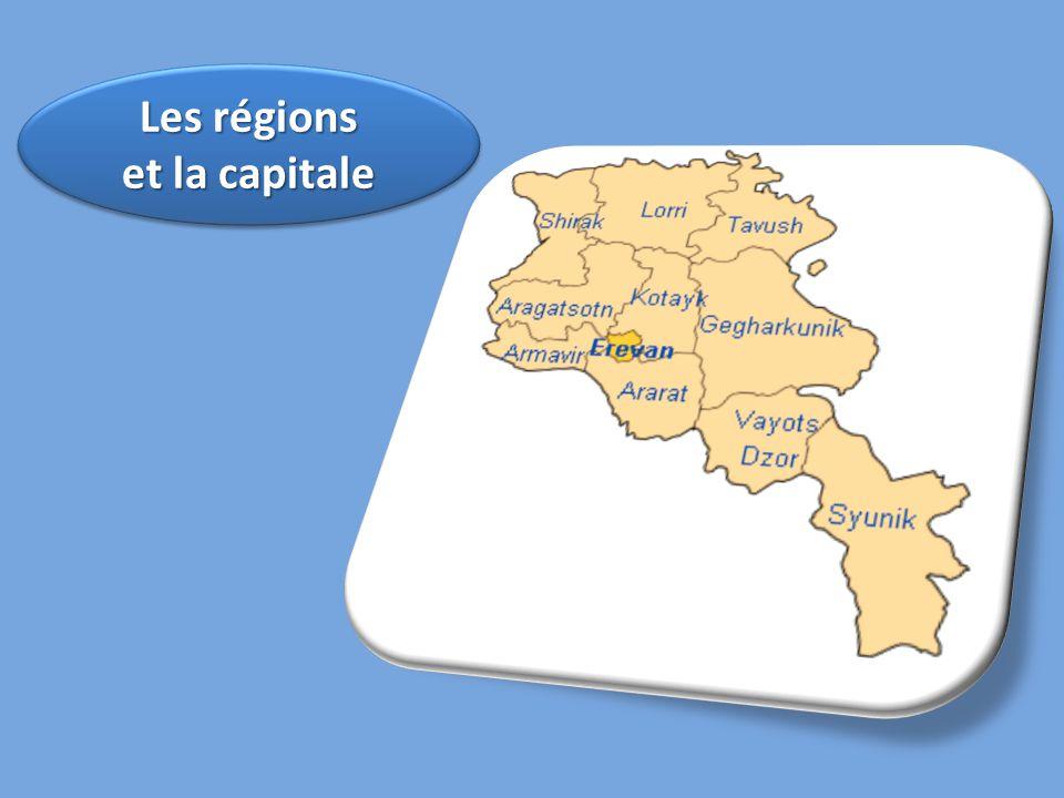 Les régions et la capitale Les régions et la capitale