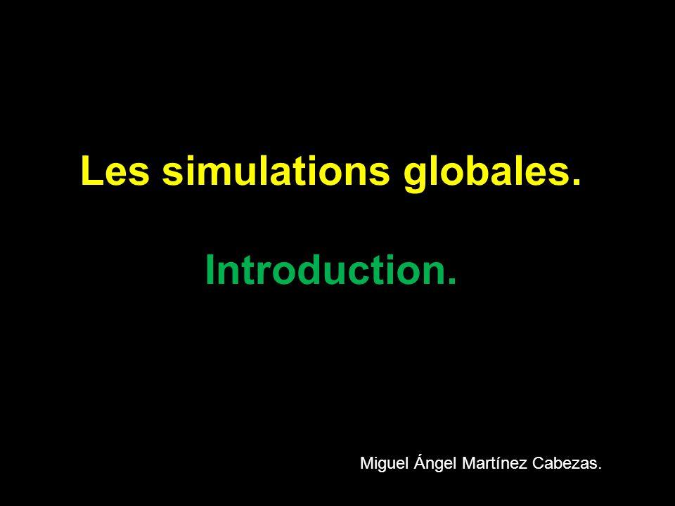 Les simulations globales: Les concepteurs. Jean-Marc Caré Francis Debyser Francis Yaiche