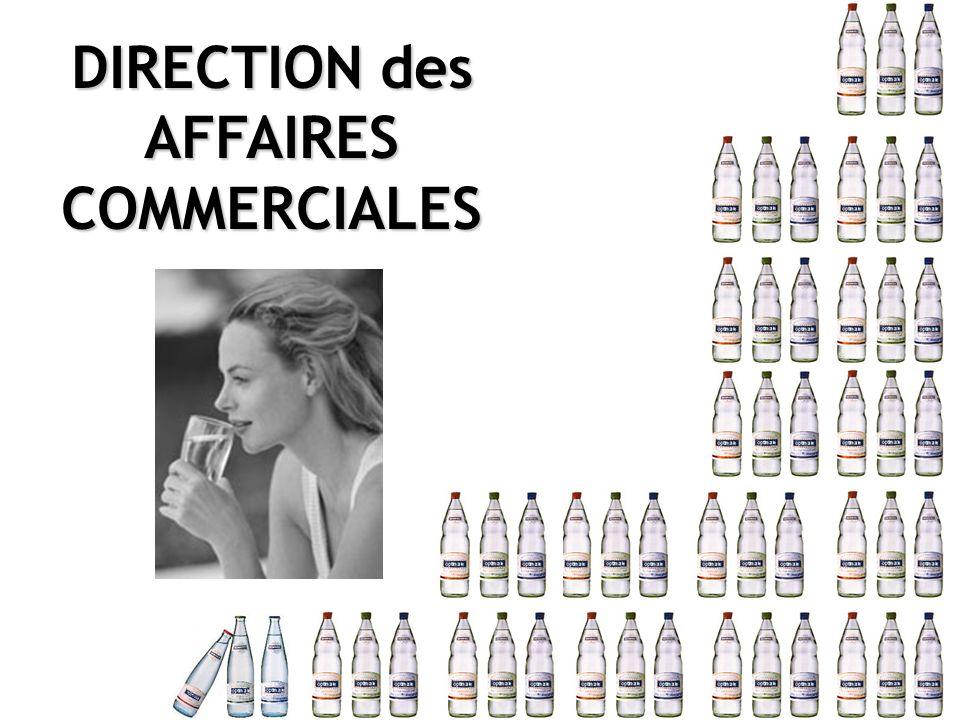 DIRECTION des AFFAIRESCOMMERCIALES