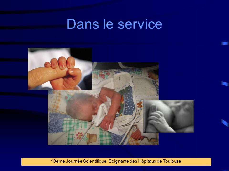 14 Dans le service 10ème Journée Scientifique Soignante des Hôpitaux de Toulouse