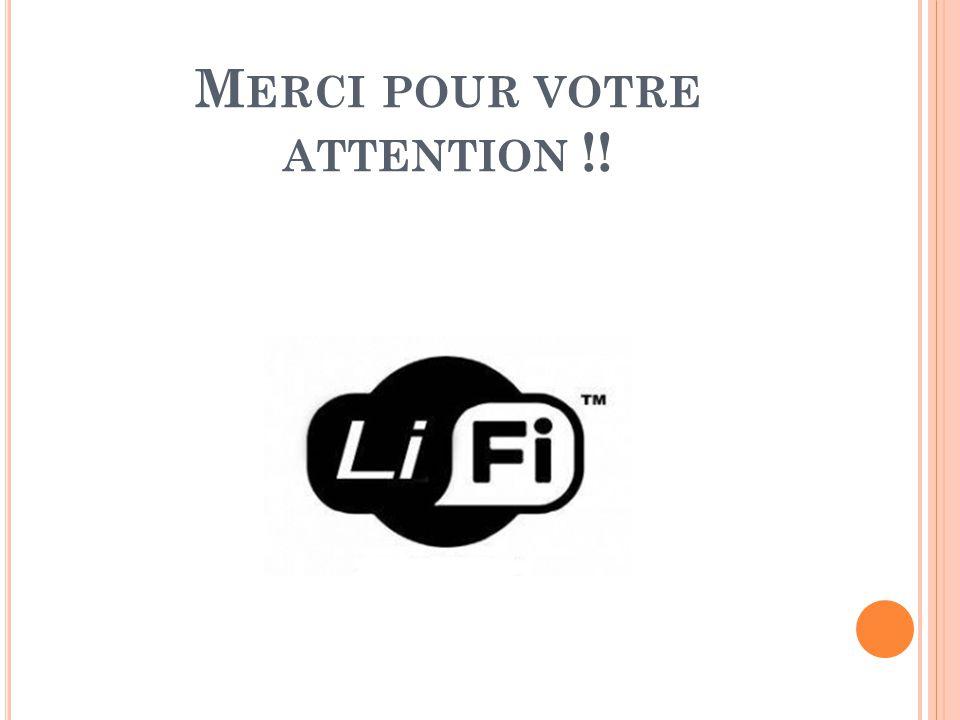 M ERCI POUR VOTRE ATTENTION !!
