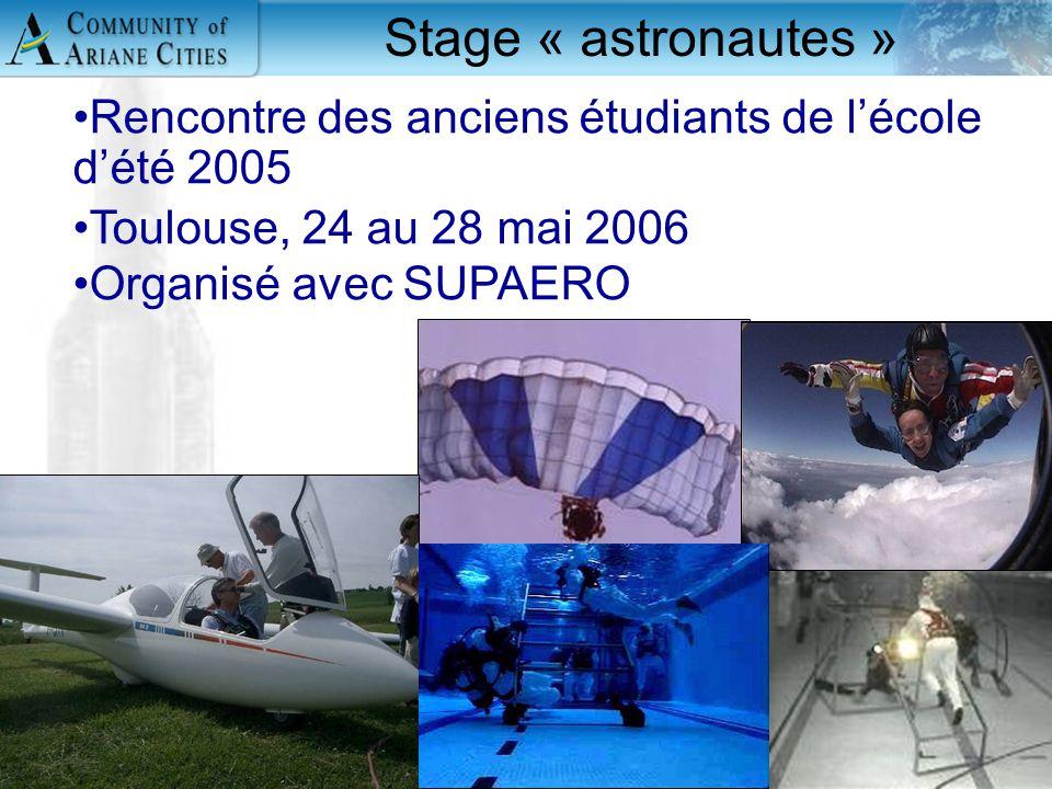 Charleroi, eurocité wallonne 24 mai 2006 12 Stage « astronautes » Rencontre des anciens étudiants de l'école d'été 2005 Toulouse, 24 au 28 mai 2006 Or