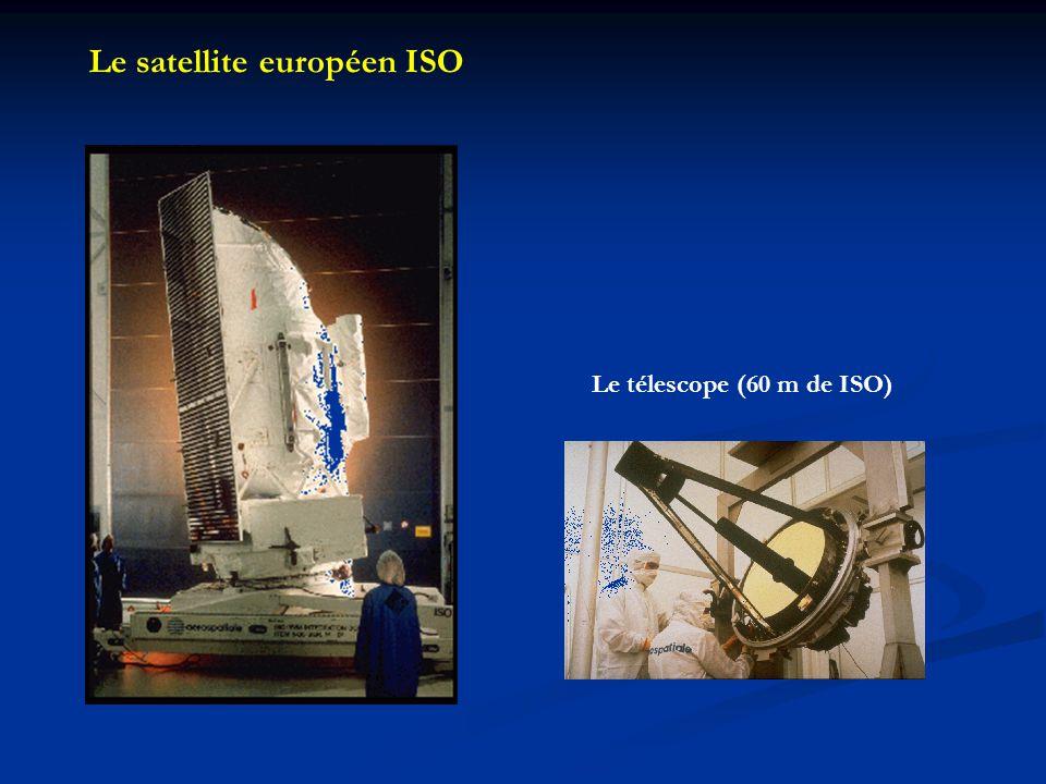 Le satellite européen ISO Le télescope (60 m de ISO)
