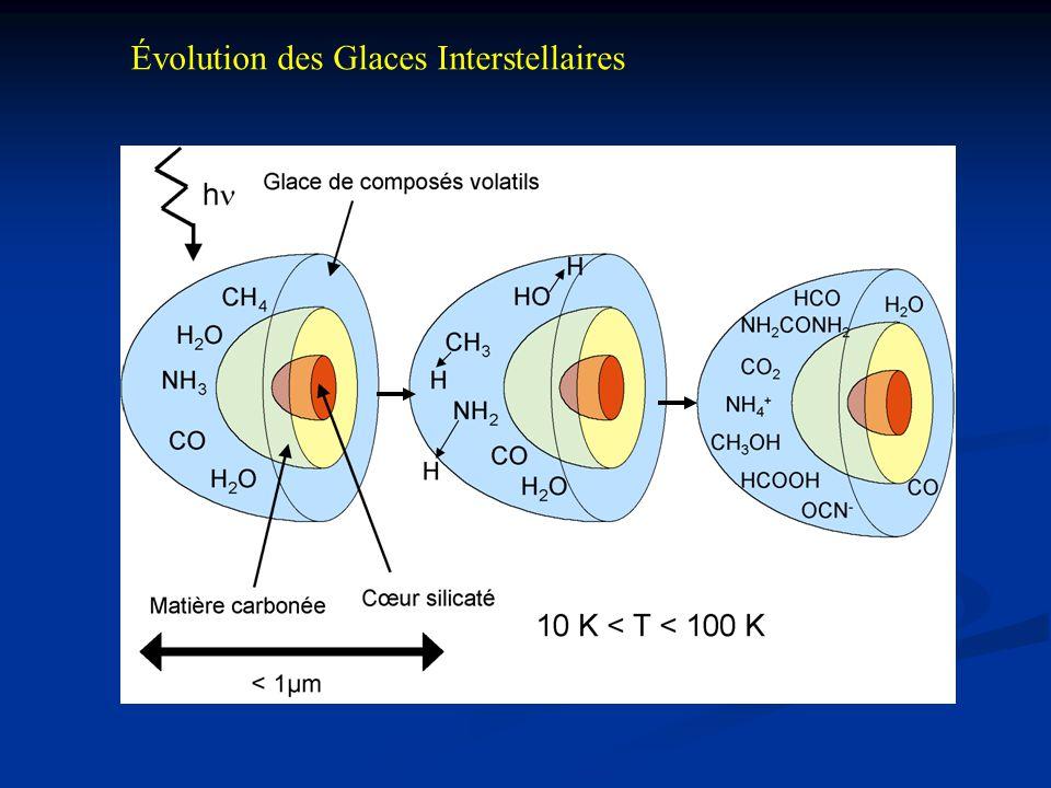 Évolution des Glaces Interstellaires