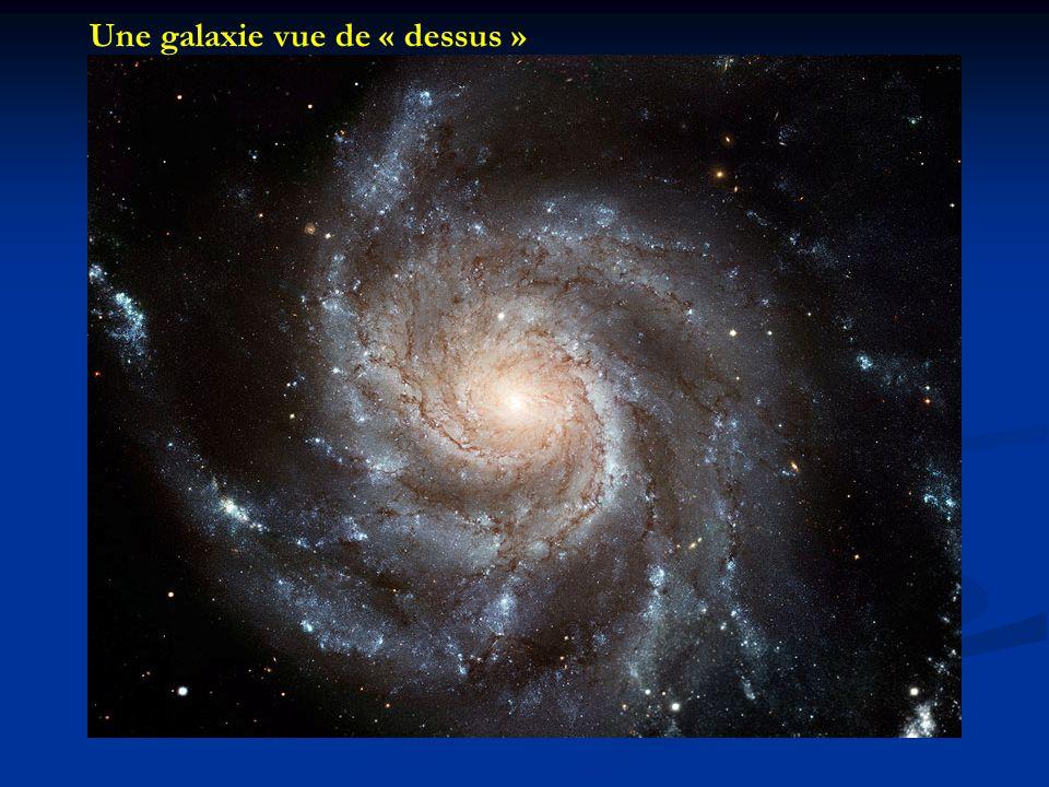 Une galaxie vue de « dessus »