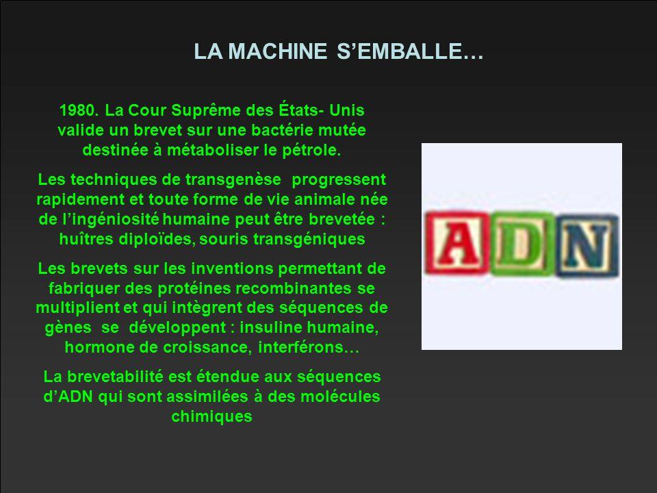 LA MACHINE S'EMBALLE… 1980.