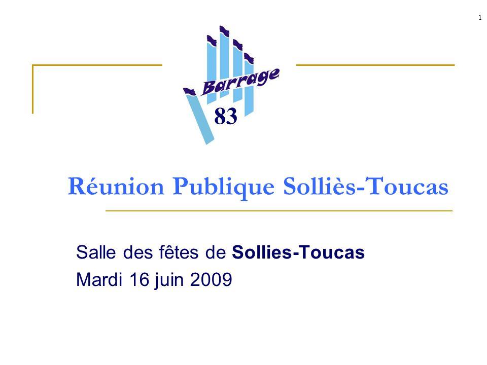 1 Réunion Publique Solliès-Toucas Salle des fêtes de Sollies-Toucas Mardi 16 juin 2009 83