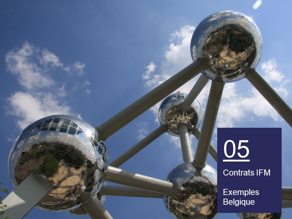 05 Contrats IFM Exemples Belgique