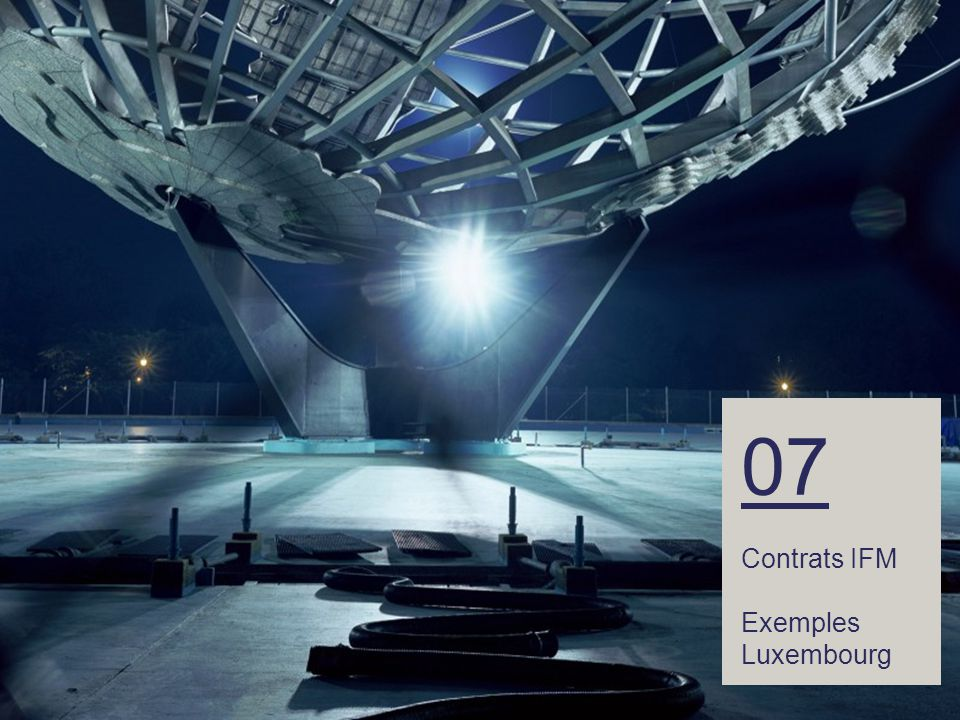 44 – 07 Contrats IFM Exemples Luxembourg