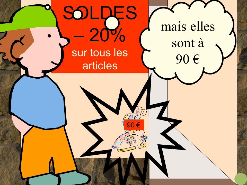 SOLDES – 20% sur tous les articles 90 €.... WAOUH! elles sont chouettes