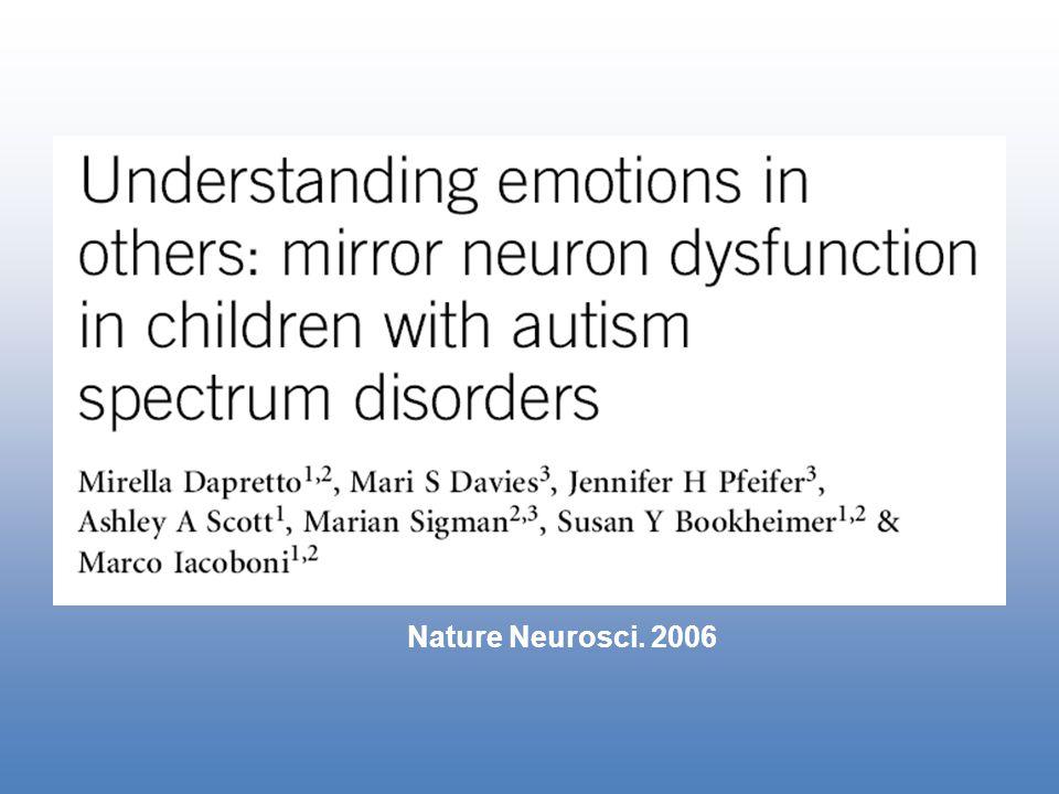 Nature Neurosci. 2006
