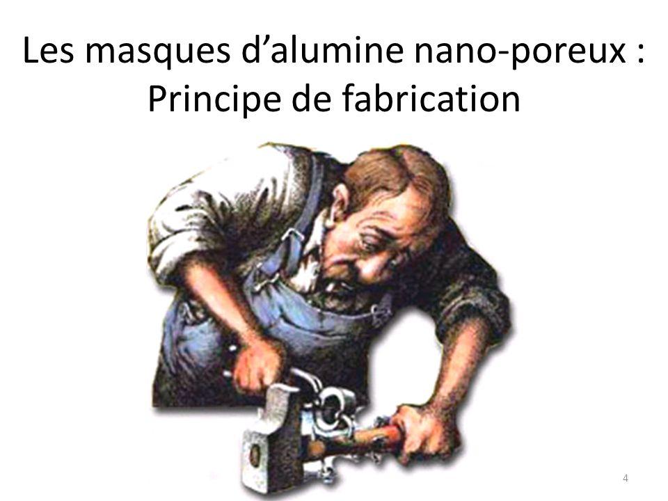 Les masques d'alumine nano-poreux : Principe de fabrication 4