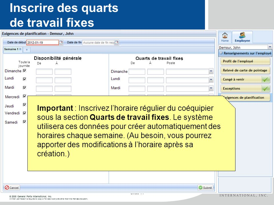 © 2008 General Parts International, Inc. Written permission is required to copy or forward to anyone other than the intended recipient. Slide 11 Cliqu