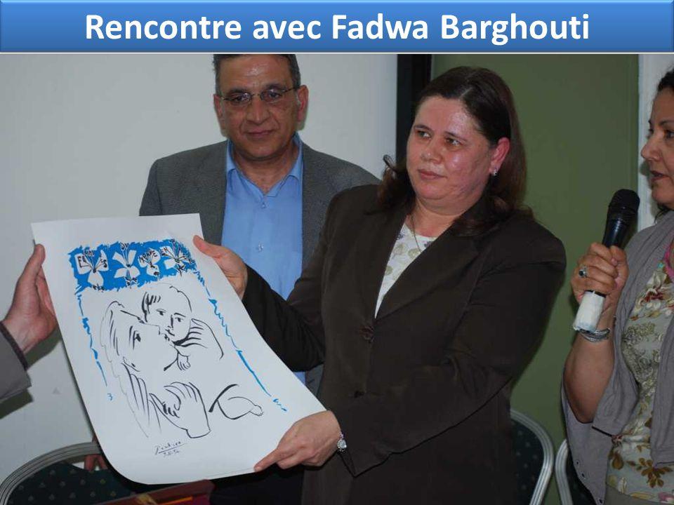Rencontre avec Fadwa Barghouti