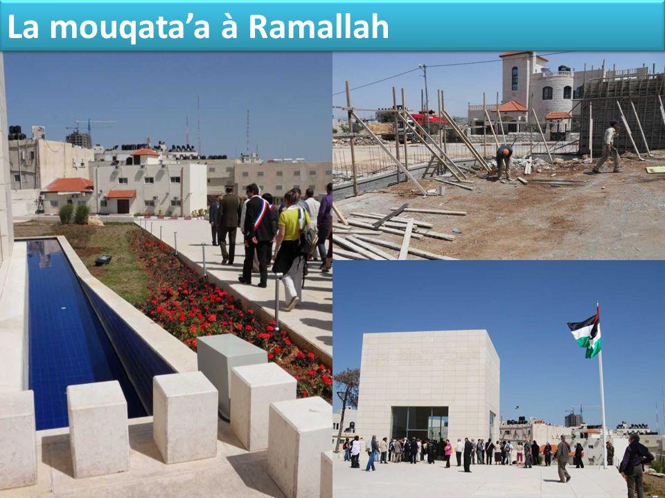 La mouqata'a à Ramallah