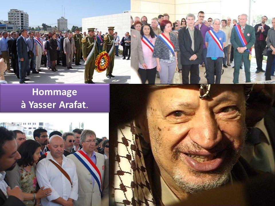 Hommage à Yasser Arafat.