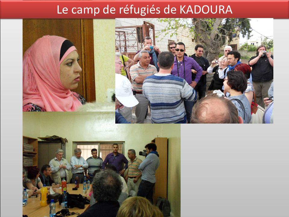 Le camp de réfugiés de KADOURA