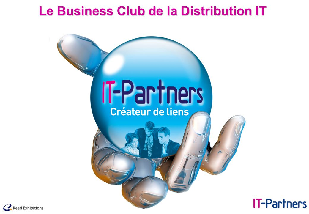 IT-Partners, le positionnement : Un objectif précis et unique, apporter au marché un contexte de mise en relation et de travail exclusivement et parfaitement dédié au Commerce .