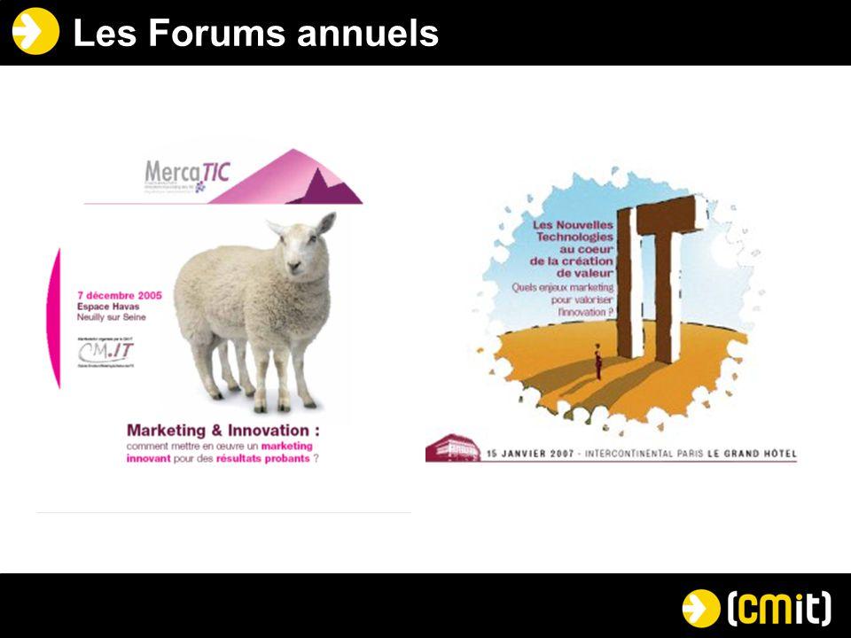Les Forums annuels