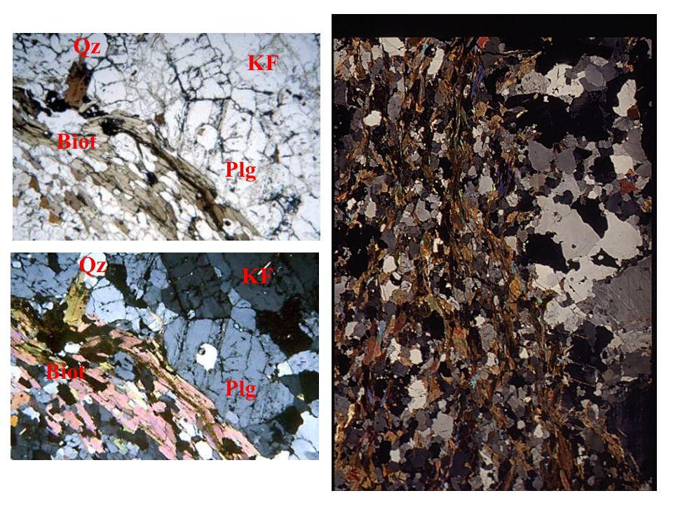 Metatexites Diatexites « Dirty » granites