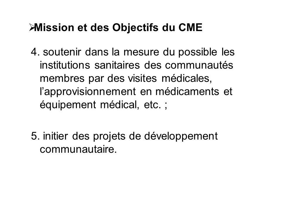 1.3. DESCRIPTION DU CME (suite)  Mission et des Objectifs du CME 1.Propager l'Évangile et édifier spirituellement le personnel du CME, ses élèves et