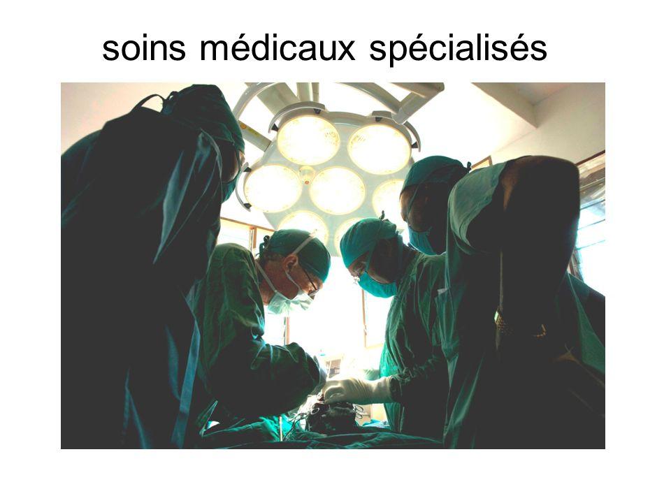 II. PANORAMA SUR LA REALISATION DES soins médicaux spécialisés au CME  MAF transportant les Malades CME