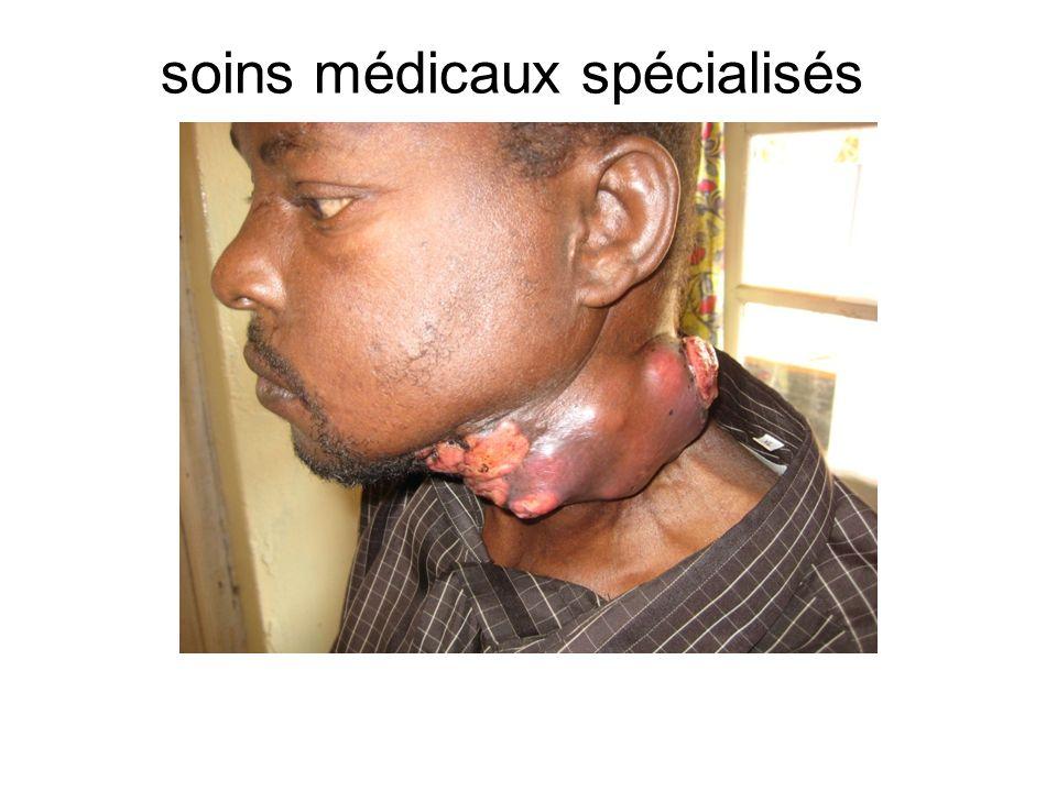 soins médicaux spécialisés