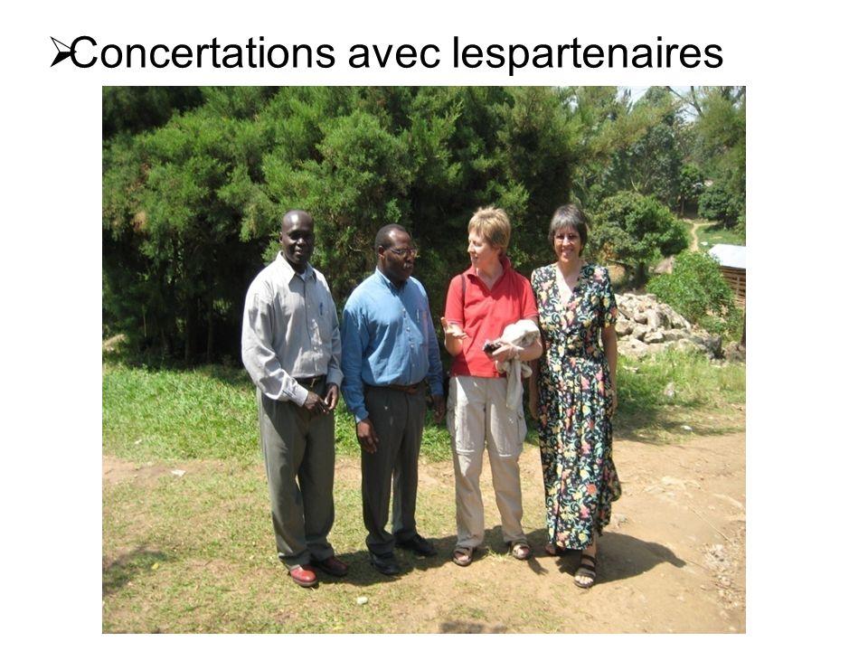  Concertations avec autorités politiques: Rencontre du President Kabila