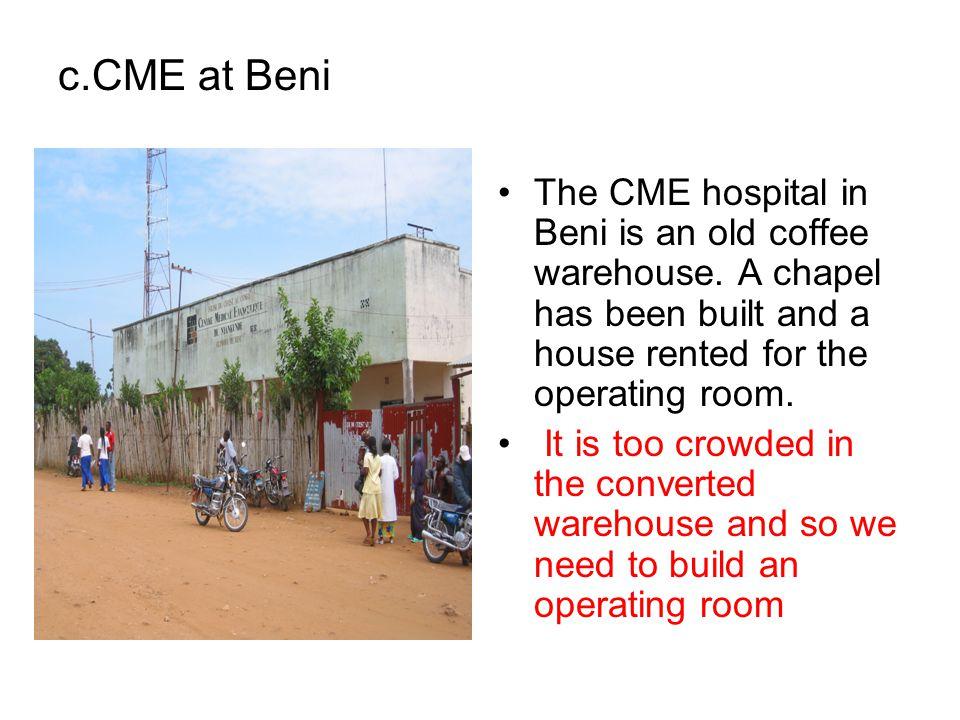  CME Nyankunde Services matérnité 2005