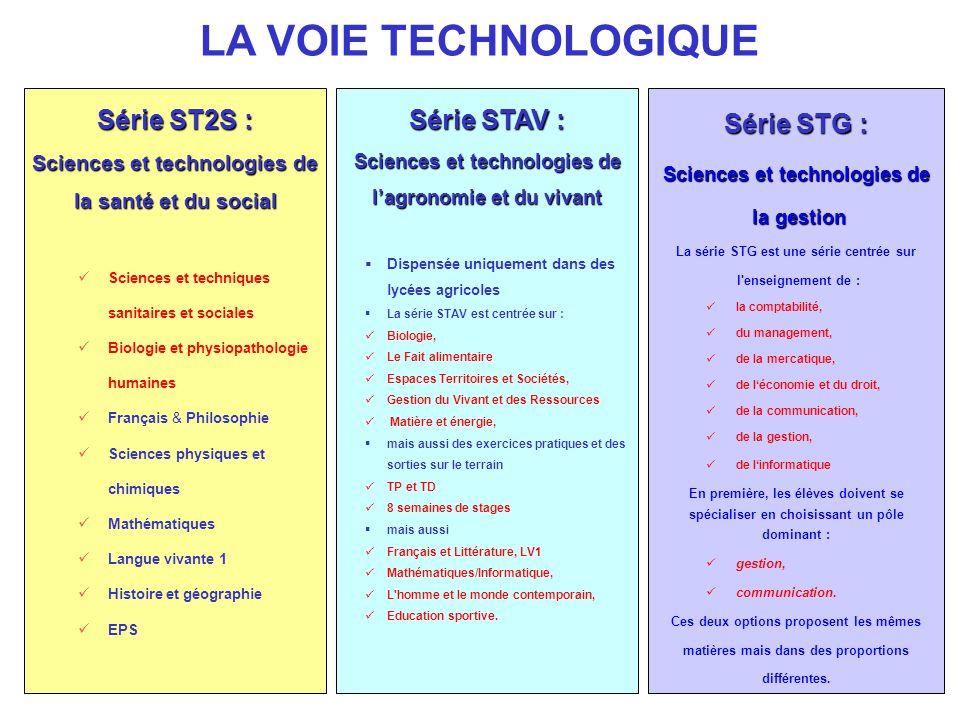 Série ST2S : Sciences et technologies de la santé et du social Sciences et techniques sanitaires et sociales Biologie et physiopathologie humaines Fra