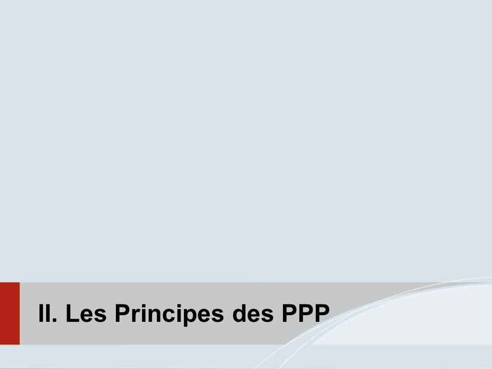 II. Les Principes des PPP