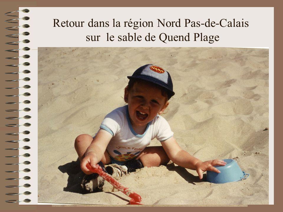 Retour dans la région Nord Pas-de-Calais sur le sable de Quend Plage