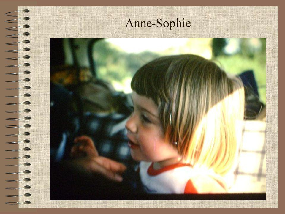Anne-Sophie En vacances à la Rosière de Montvalezan