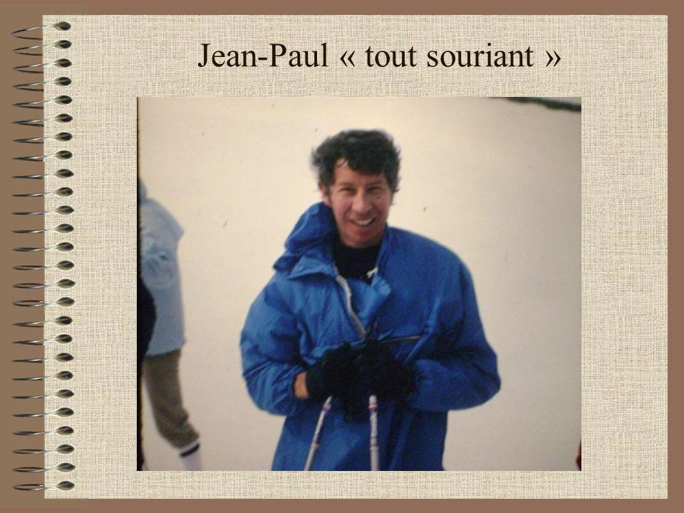 Jean-Paul « tout souriant »