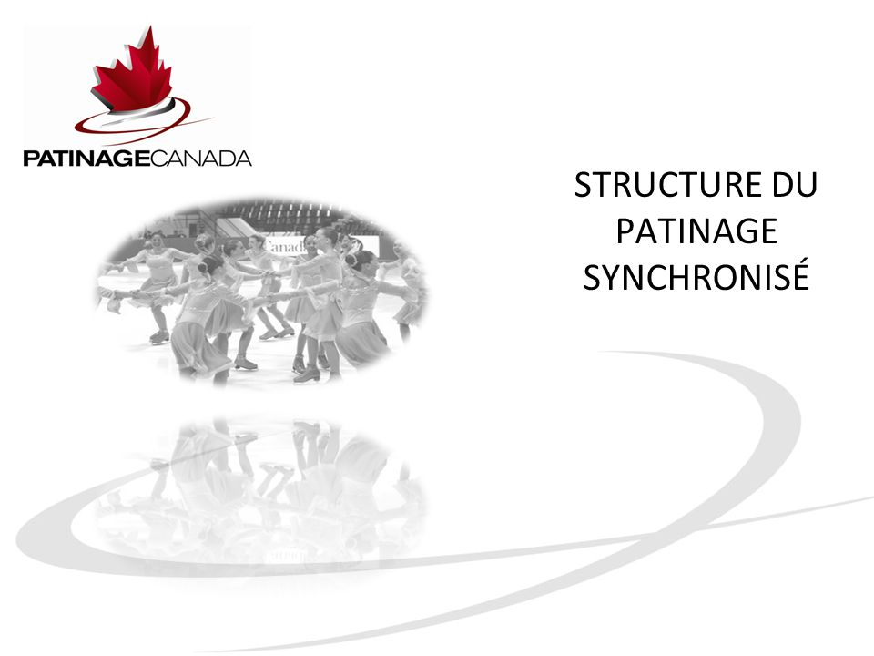 STRUCTURE DU PATINAGE SYNCHRONISÉ