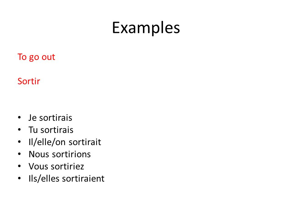 Les Devoirs Assignment 2: You have been learning to use the conditional tense in your lessons.