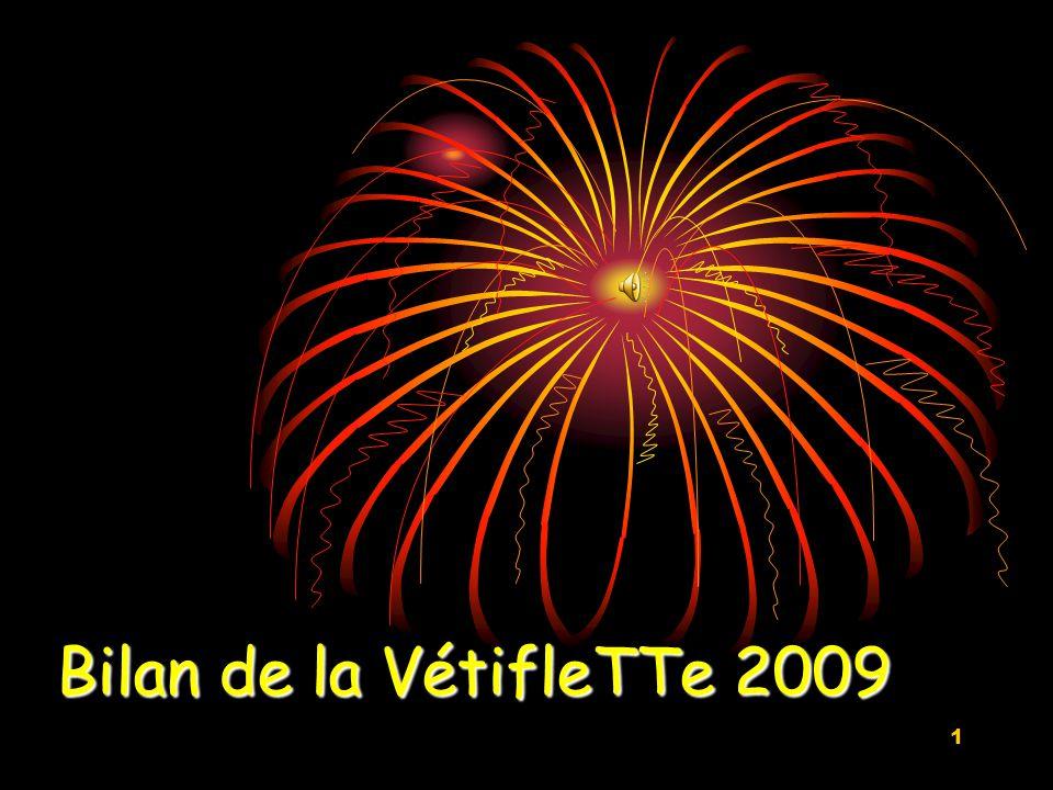 1 Bilan de la VétifleTTe 2009
