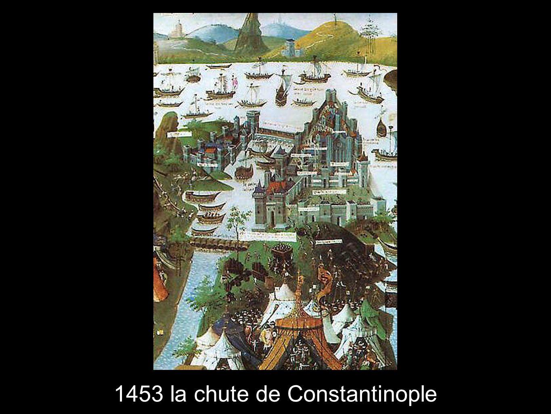 1453 la chute de Constantinople