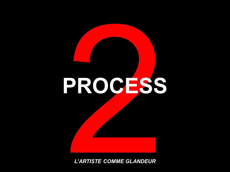 2 L'ARTISTE COMME GLANDEUR PROCESS